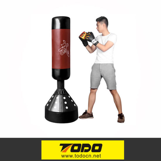 Fitness Boxing Equipment Stand Punching Bag For Body Building