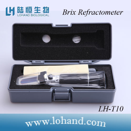 Hotsale Hand Held Brix Refractometer with 0-10% Test Range (LH-T10) pictures & photos