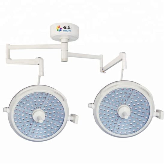 Double Dome LED Hospital Ceiling Lamp / Operating Light / Shadowless Lamp