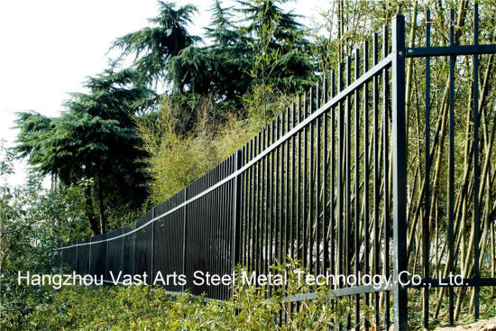 2 Rails Simple Classical Security Industrial Residential Garden Fence pictures & photos