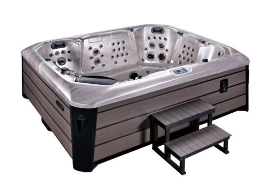 2017 New Design UK Ce High Quality Fashion Garden 8 Persons SPA Hot Tub Jacuzzi pictures & photos