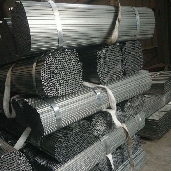 Galvalume Square Round Pipe Gi Gl Aluzinc Tube for Construction