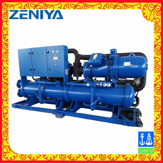 Water Cooling Screw Chiller for Marine Industry pictures & photos