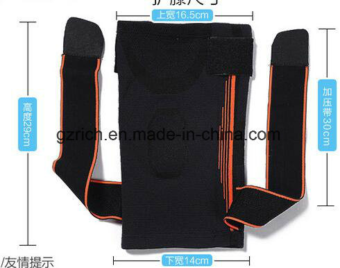 Knee Brace Sports Safety Kneepad Basketball Football Knee Pads Training Elastic Tape Knee Support Calf Knee Protection pictures & photos