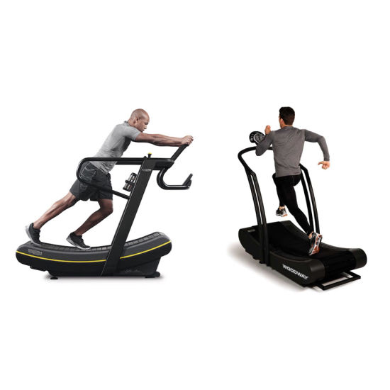 Home Gym Equipment Foldable Running Machine Treadmill No Motor Treadmill pictures & photos