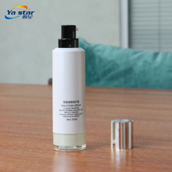 Wholesale Cosmetic Plastic Pump Bottles for Airless Cream Container