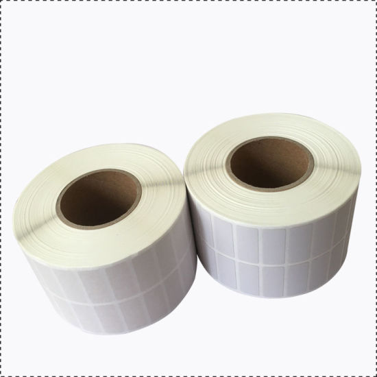 China Custom Size Blank Direct Thermal Paper Label for