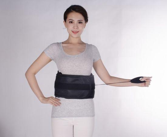 Pull Lumbar Waist Brace with Adjustable Abdominal