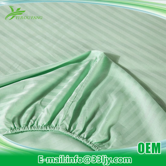 Home Cotton Plain China Wholesale Satin Bedding Sets pictures & photos