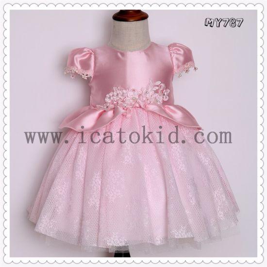 eeb74eec95f Latest Fancy Kids Princess Dress Children Wedding Dress Christmas Designer  One Piece Baby Girl Party Dresses
