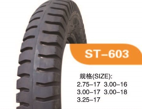 High Quality Motorcycle Tyre With 300-17 ST603