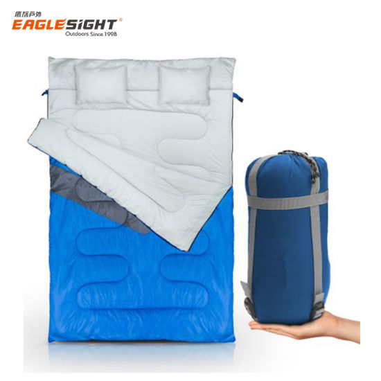 2 Couple Double Sleeping Bag Light Weight pictures & photos