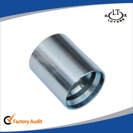 Zinc Plating Good Quality Hydraulic Pipe Fittings pictures & photos