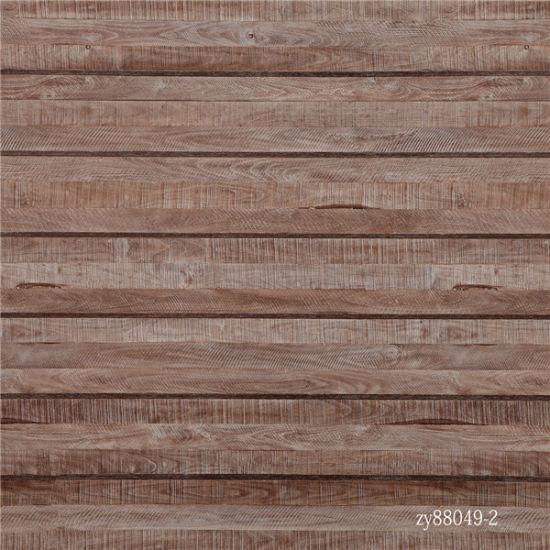 China Straight Wood Grain Strips Flooring Paper China Melamine