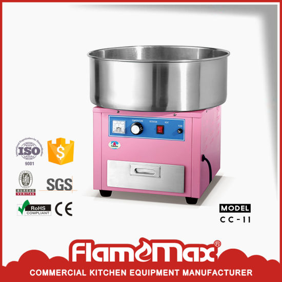 China Ce Rohs Verified Electric Cotton Candy Floss Machine Cc 11