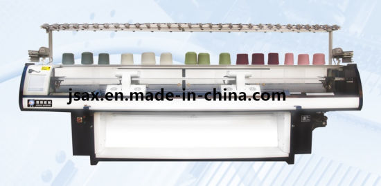 China 100 Inches Fully Computerized Flat Bed Knitting Machine Ax