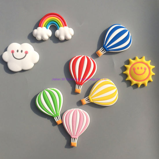 Promotional Hot Air Balloon Magnet Custom Fridge Cute Embossed Fridge Magnet for Gifts pictures & photos
