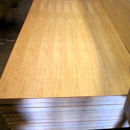 A Grade Engineered Wood Veneer Plywood Fancy Mdf Uv Coating Poplar Core Particle Board