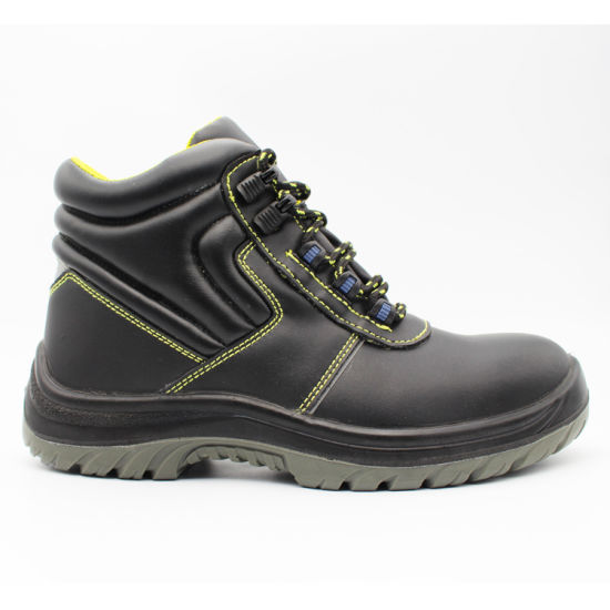 High Cut Steel Toe for Acid Alkali Resistance Work Shoes/Safety Shoes
