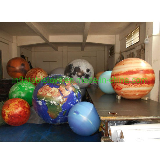 Custom Inflatable Planets, Earth, Moon, Mars, Saturn, Inflatable Planet Balloon pictures & photos