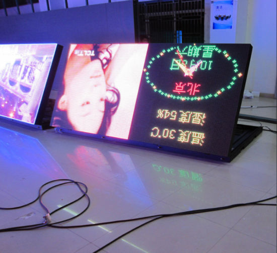 Outdoor Full Color HD P8/P10mm SMD/DIP 4'x8' 2 Sided LED Digital Sign Programmable Wireless for Government