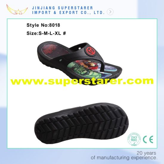 New Tyle EVA Men Flip Flop, Indoor Funky Flip Flop with Insole Printing