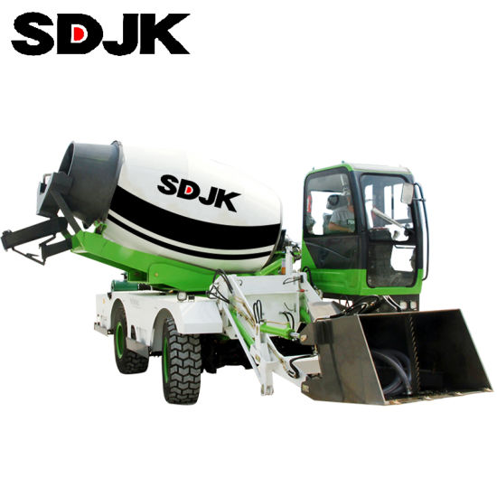 Concrete Cement Machine Mixers with Loader