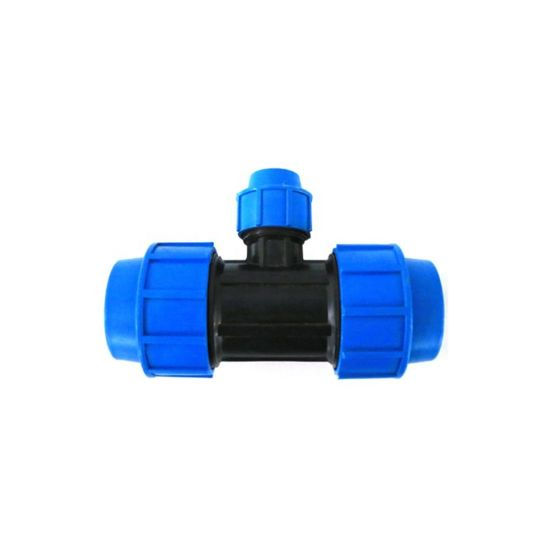 Drip Irrigation System Compression Fitting Tee for Pipe Pipe Reducing Tee Fitting