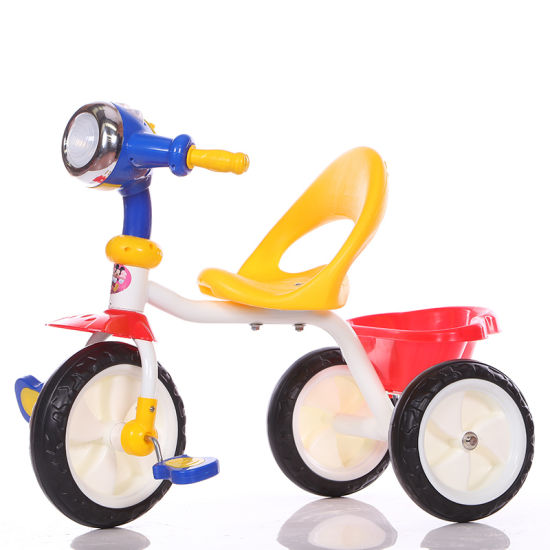 Cheap Price Tricycle for Kids with Flashing Steering Wheel pictures & photos