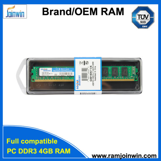 Desktop 4GB DDR3 1600MHz RAM Memory pictures & photos
