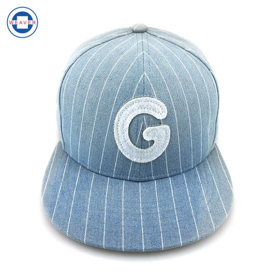 0225b1c9ceec3 China Cotton Funny Flat Brim Caps And Hats Custom Baby Hat Blank