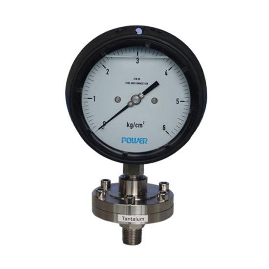 "115mm 4.5"" Phenol Case Diaphragm Pressure Gauge"