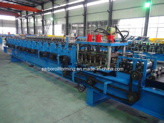 C Purlin Roll Forming Machine (Double rows)
