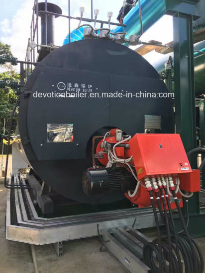 China ASME Horizontal 3 Pass Wet Back Fire Tube Steam Boiler - China ...