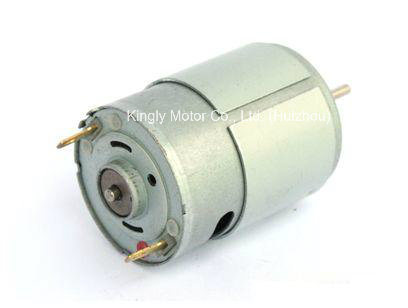 12volt High Power Permanent Magnet DC Fan Motor Massager Motor pictures & photos