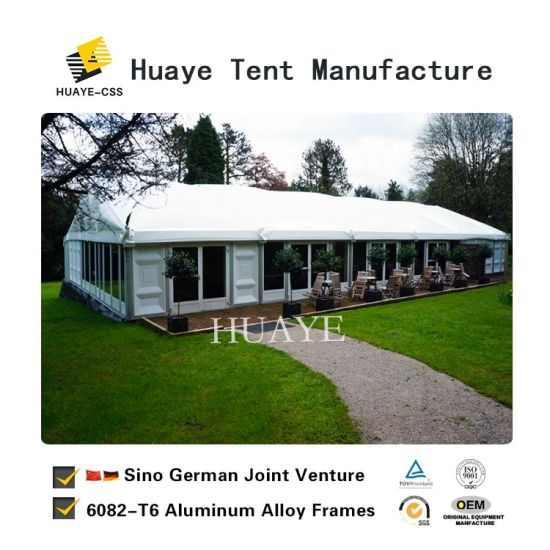 Marquee Party Wedding Tent With Gl Walls For Hy042g