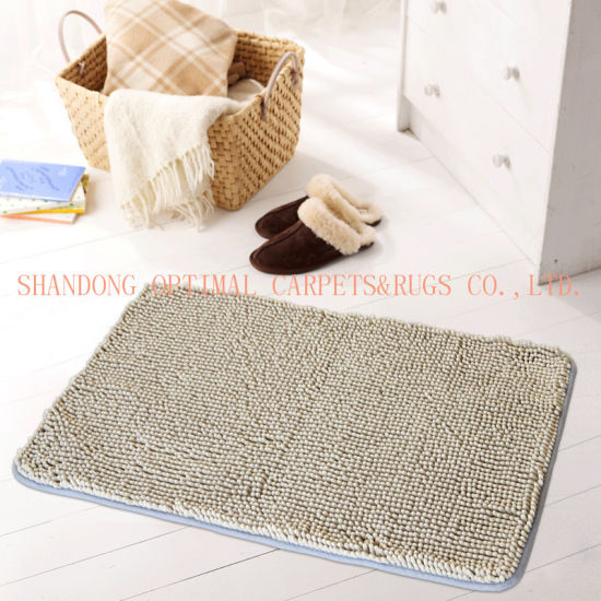 Floor Mat Chenille Fluffy Bedroom Rug Bath Doormat Carpet China Chenille Carpet And Microfiber Rugs Price Made In China Com