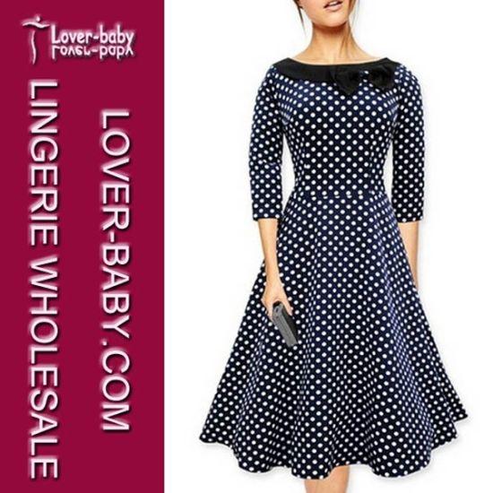 e5e0f6b3c1 China Wholesale Casual Ladies Office Wear Dresses (L36069-2) - China ...