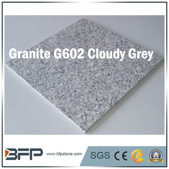 G602 Chinese Natural Stone Granite Tile for Middle East Market