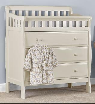 Dress Table Changing Nursery With Pad Drawer And Dresser