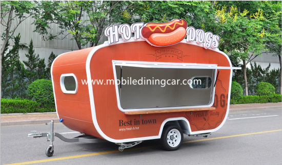 2018 Vintage Food Trailer Sales Hot With Beautiful Design CE
