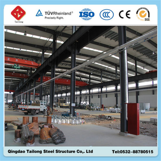 Low Cost Steel Structure Workshops pictures & photos