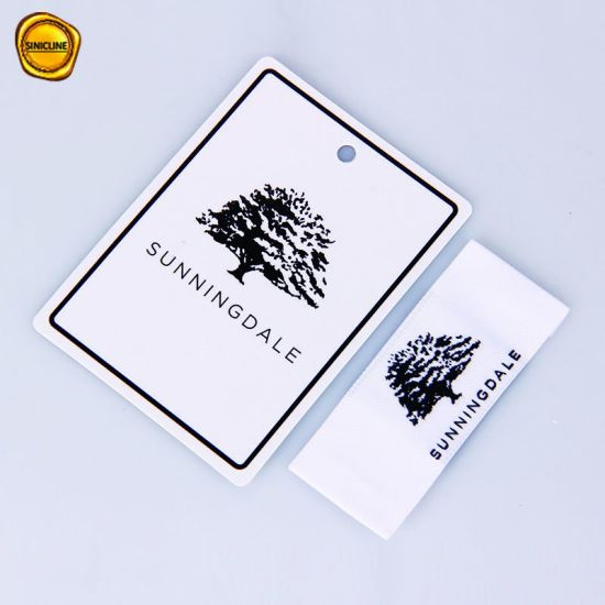 fd378c1a3 Sinicline Glossy Finish Custom Logo Printed Paper Hang Tag for Clothing. Get  Latest Price
