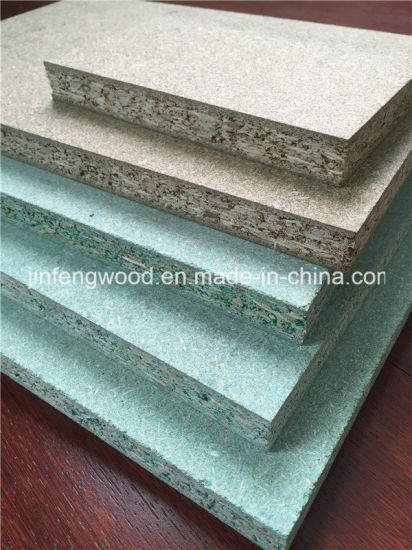 Green Waterproof Particle Board/ Moisture Resistant Chipboard
