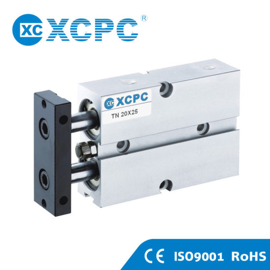 Double Shaft Rod Pneumatic Cylinder (TN series)