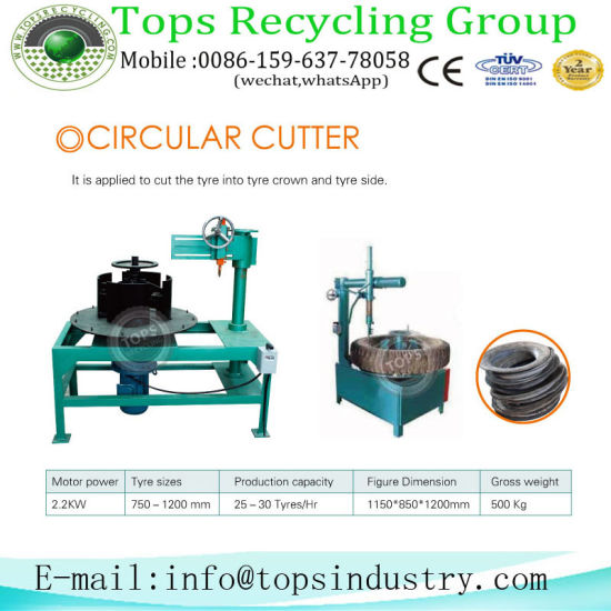 Rubber Crumb Machine/Tyre Recycling Equipment/Rubber Recycling for Sale pictures & photos