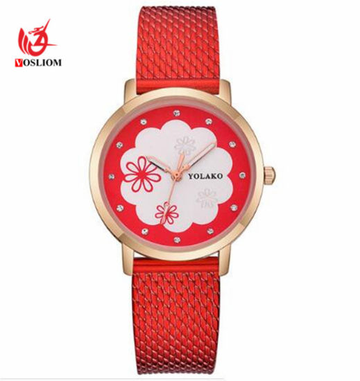 a3084e0b33d Women Watches Luxury Silicone Mesh Strap Quartz Wrist Watch Fashion Ladies  Dress Watch Relogio Feminino