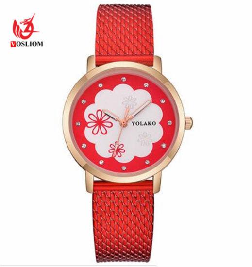 443eb46241d Women Watches Luxury Silicone Mesh Strap Quartz Wrist Watch Fashion Ladies  Dress Watch Relogio Feminino