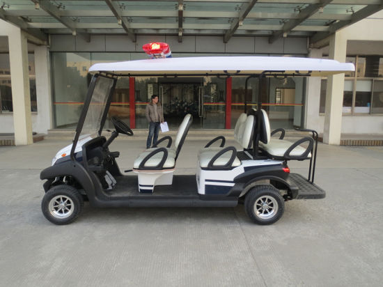 Battery Operated Golf Car for 8 Seater with Back Seat pictures & photos