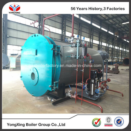 China 1-10 Ton/H Horizontal Fire Tube Diesel or Natural Gas Fired ...